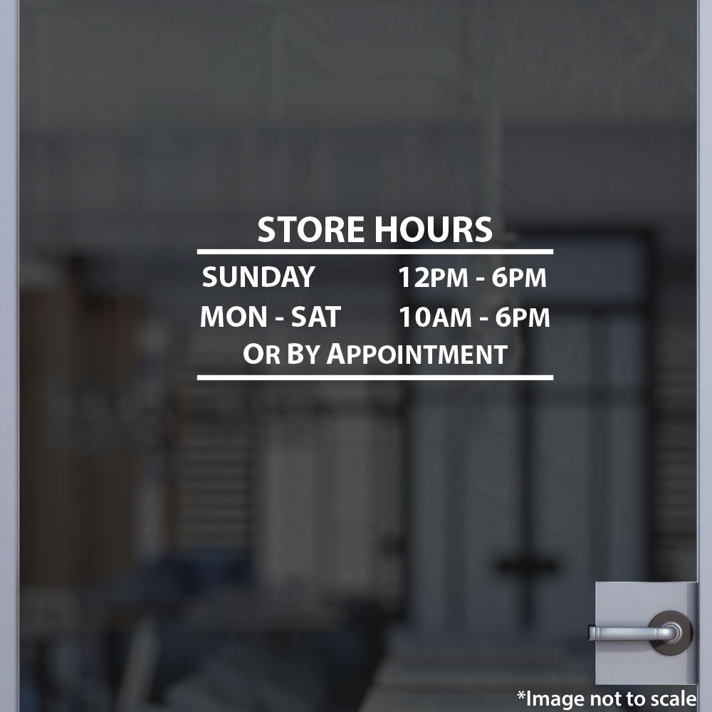 La Coste Store Hours | StickerTitans.com