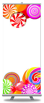 Retractable Banners and Stands at StickerTitans.com