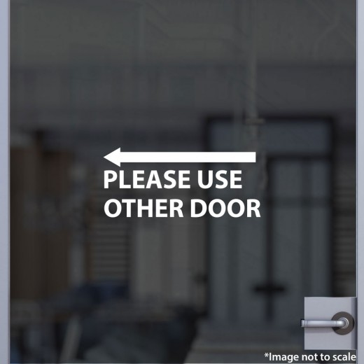 Please Use Other Door V.1 (Left)