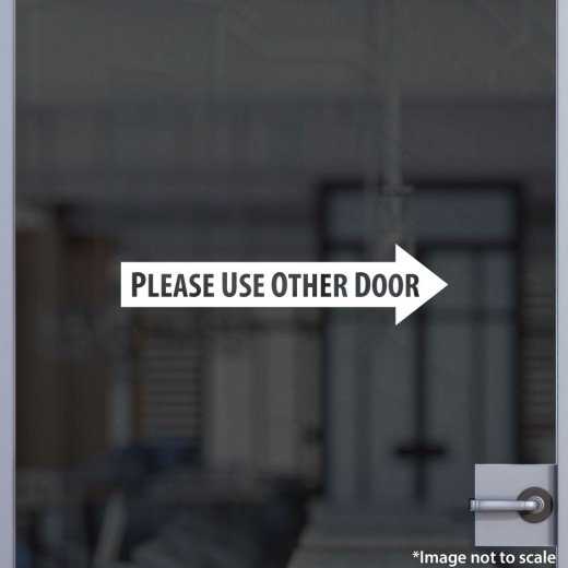 Please Use Other Door V.2 (Right)