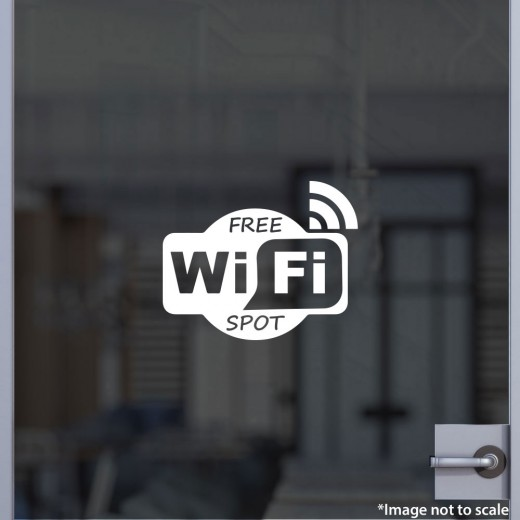 Free Wifi Spot Decal