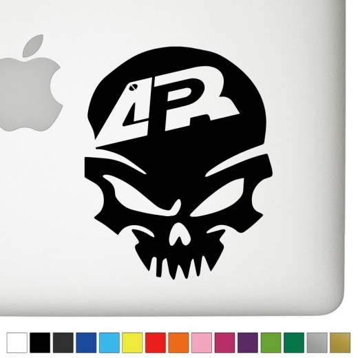 APR Badass Skull Decal