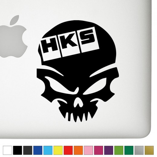HKS Badass Skull Decal