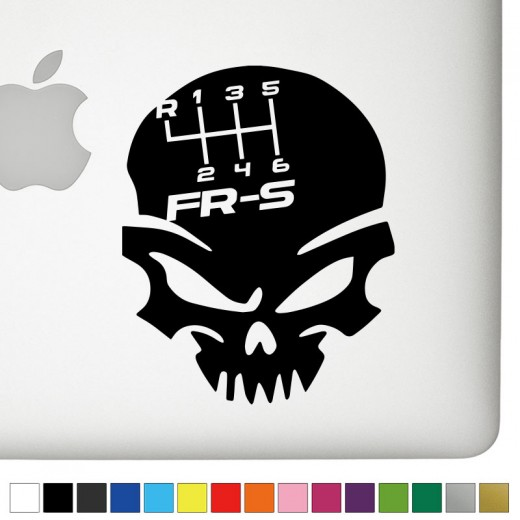 Scion FRS Badass Skull Decal
