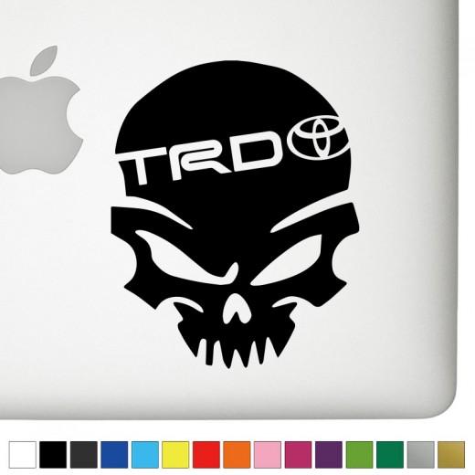 Toyota Trd Logo Stickers Satu Sticker