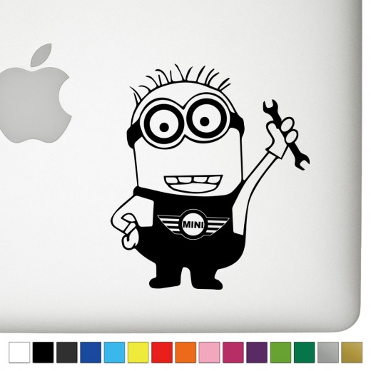 Mini Jerry the Minion Decal