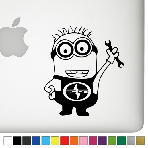 Scion Jerry the Minion Decal