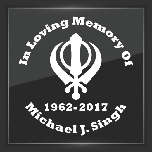 Religious 10 Sikh - In Memory of Decal