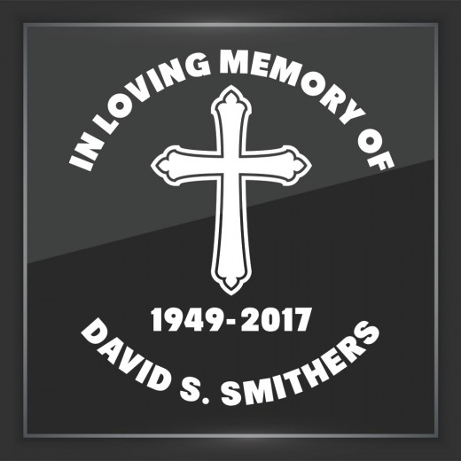 Religious 2 - In Memory of Decal
