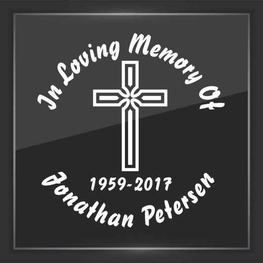 Religious 4 - In Memory of Decal