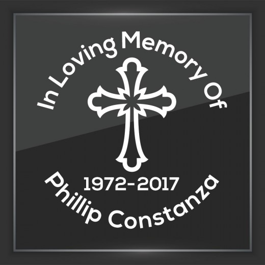 Religious 5 - In Memory of Decal