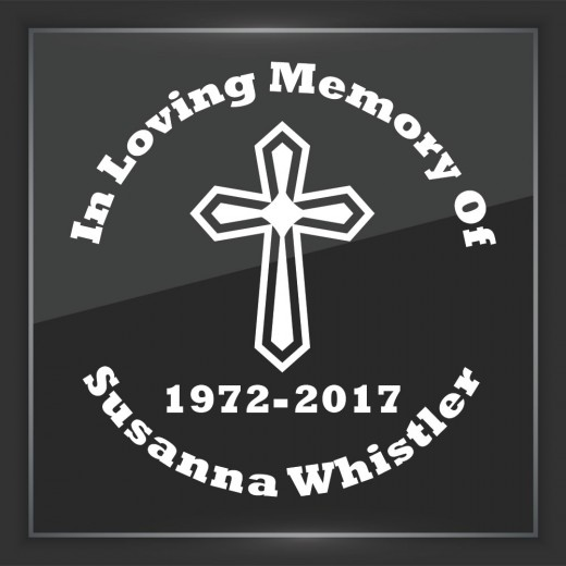 Religious 6 - In Memory of Decal