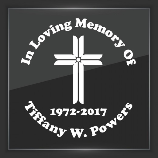 Religious 8 - In Memory of Decal