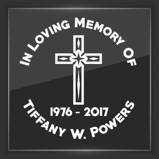 Religious 9 - In Memory of Decal