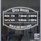 All Purpose Open Hours
