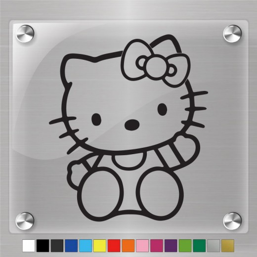Hello Kitty Decal Ver.3