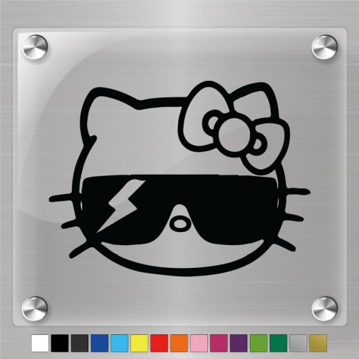 Hello Kitty Lady Gaga Decal
