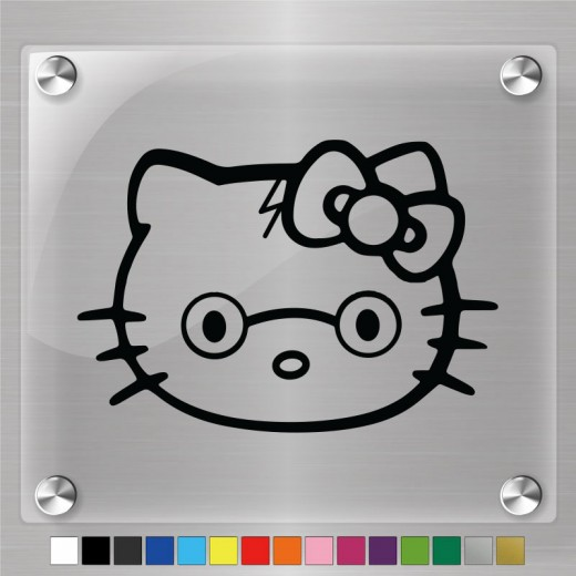 Hello Kitty Harry Potter Decal
