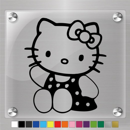 Hello Kitty Decal Ver.2