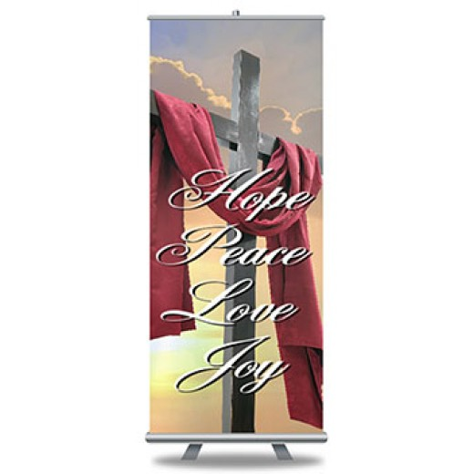 Roll Up Banners Custom Full Color Print and Stands