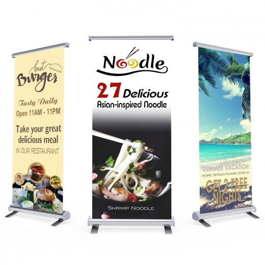Popup Banner and Stand
