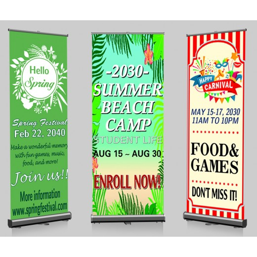 Pop-up Banners Print and Stand