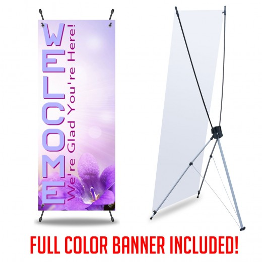 X Banner Print and Stand