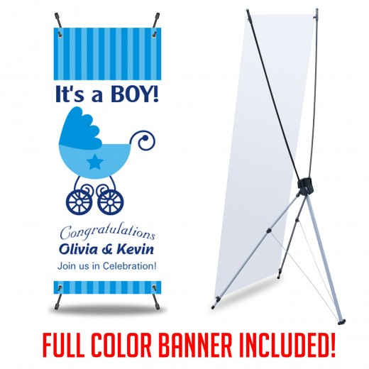 X-Banner Full Color Print Wholesale