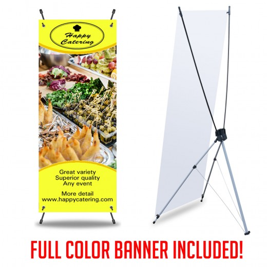 X Banners Print and Stand