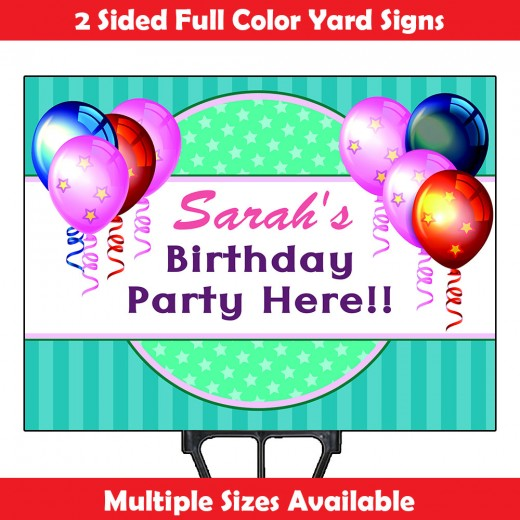 2-Sided Yard Sign