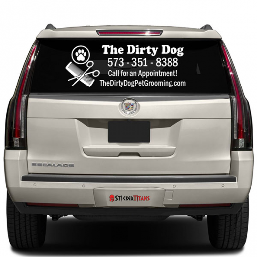 Window Decal - Back window decals for trucks