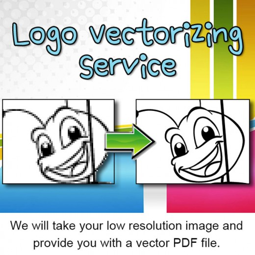 Logo Vectorizing Service