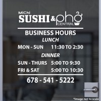 Sushi & Pho Central