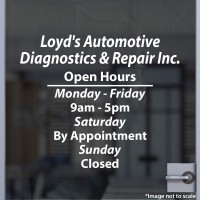 Loyd's Automotive Diagnostics & Repair Inc.
