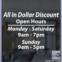 All in Dollar Discount