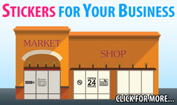 Stickers and Decals for your Business